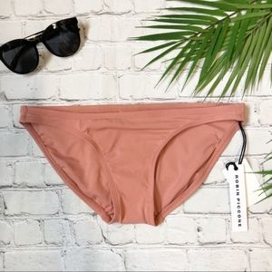 Robin Piccone Ava Bikini Bottom Copper Rose Small